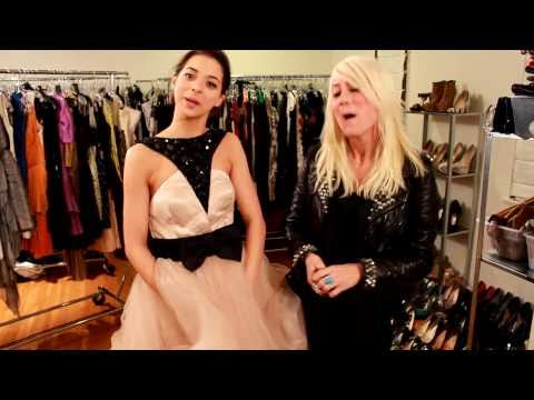 Gia Mantegna, Miss Golden Globe, Searches for the Perfect Dress