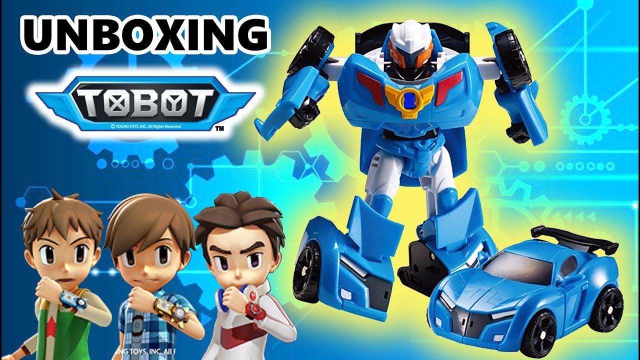 Unboxing Tobot Y Mainan Anak Mobil Robot Tobot Bahasa Indonesia Youtube