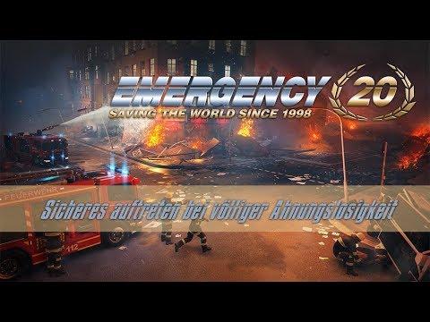 Emergency 20 [E01] - Sicheres auftreten bei völliger Ahnungslosigkeit! 🚒 Let's Play