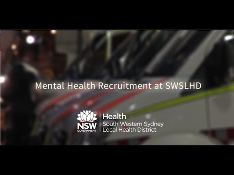 Being A Psychiatrist In South Western Sydney Local Health District.