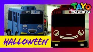 Tayo Dalam Kehidupan Nyata Spesial l Selamat Halloween Dengan Tayo aE! l Rumah Berhantu