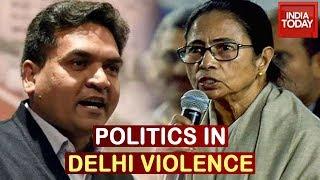 Politics Over Delhi Clash: Congress, TMC Leaders Express Concern For People Injured