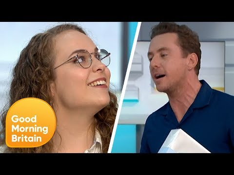 Danny Jones Surprises Nurse Who Sings McFly Songs to Cancer Patients   Good Morning Britain
