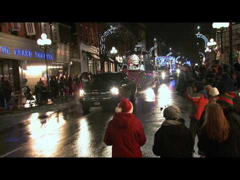 CKWS TV 2014 Santa Parade