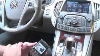 2012 Buick LaCrosse eAssist, IntelliLink Multimedia