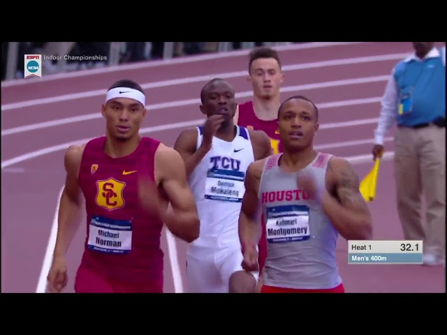 Michael Norman - 2018 NCAA Indoor 400m Prelim