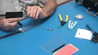 Fiber Optics ST Connector installation - Valdor tutorials - #1. ST Connector for 250um Buffer