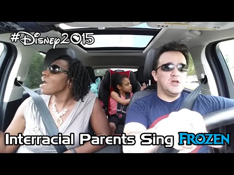 Interracial Parents Really Sing Frozen (Love is an Open Door)