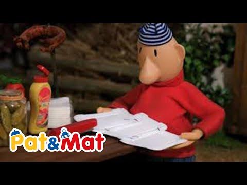 1e08e4124 Pat a Mat - Papírový servis / Paper Service