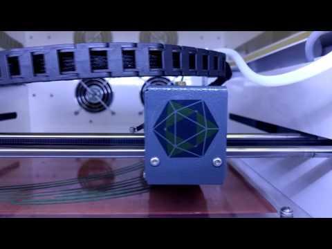 3D принтер Hercules Strong - видео обзор от компании 3Dtool