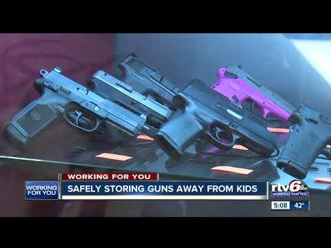 Lebanon gun shop owner emphasizes safety in wake of toddler shooting
