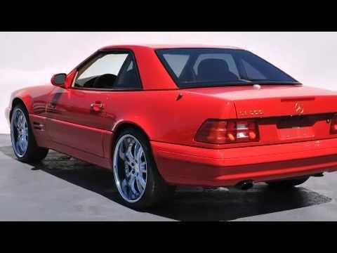 2000 Mercedes-Benz SL500 Belmont CA 94002 - YouTube