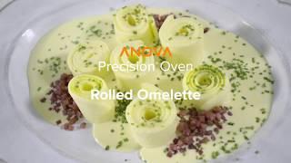 Anova Precision® Oven - Rolled Omelette Recipe