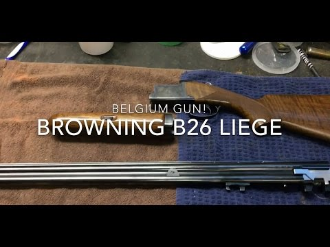 Browning B26 Liege by GStyles