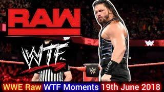 WWE RAW WTF MOMENTS HINDI   Roman Reigns Fight With Bobby Lashley   Ronda Crazy   Braun New Friend