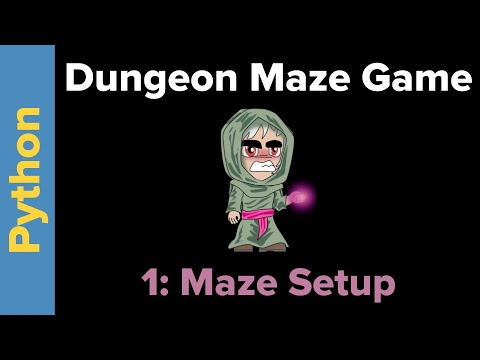 Python Maze Game Tutorial Part 1