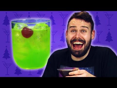 Irish People Taste Test Christmas Cocktails