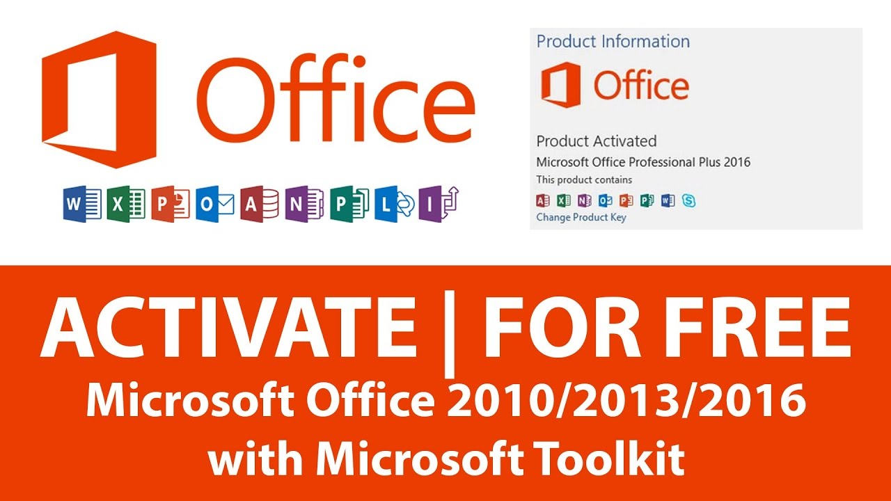 activate microsoft office 2013 free