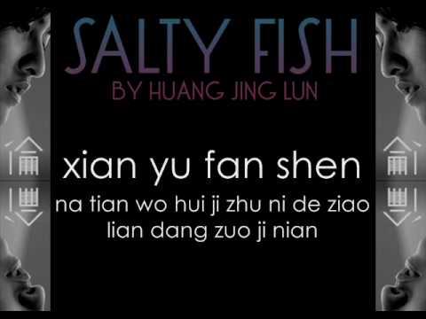 Salty Fish by Huang Jing Lun w/ Lyrics ( 咸鱼 - 黄靖伦 )