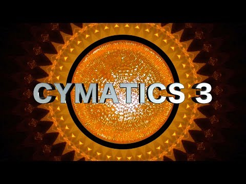 Cymatics 3 • Water Meditation • Soundtrack: Instant Third Eye Stimulation (M3)