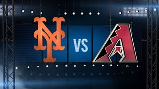 6/4/15: Harvey, Mayberry carry Mets over D-backs