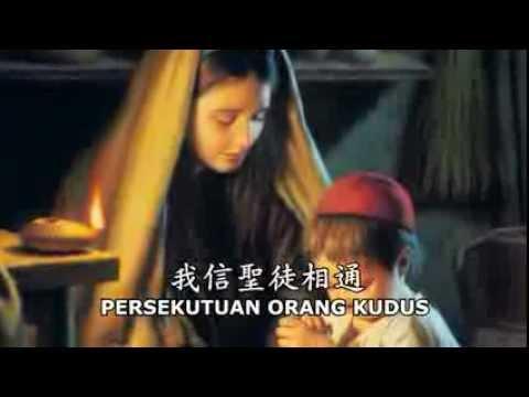 Klip Pengakuan Iman Rasuli Natal 2012 - Versi Mandarin - 121212