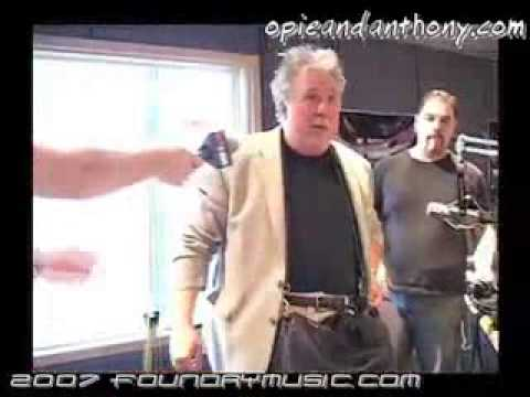 Rob Bartlett (as Brian Wilson) on Opie & Anthony