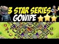3 Star Series Gowipe Gowiwipe Attack Strategy TH10 vs TH10 Trophy Base Clash of Clans