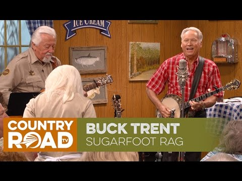 "Buck Trent plays ""Sugarfoot Rag"""