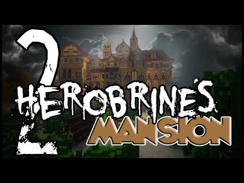 Herobrine's Mansion w/ Uberagon - Part 2 - Flying Pumpkins of Death