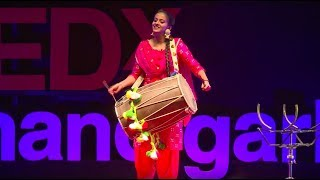 For the love of Dhol  | Jahan Geet Singh | TEDxChandigarh