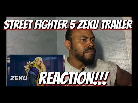 STREET FIGHTER 5 Zeku Trailer REACTION!!!