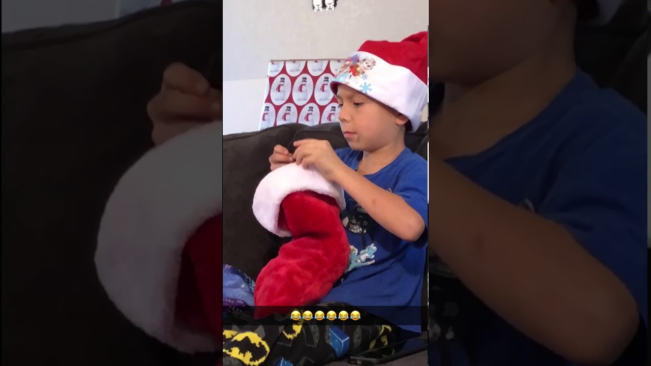 KID GETS COAL FOR CHRISTMAS!!!! - YouTube