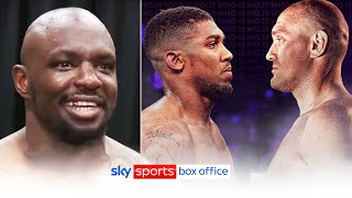 """I'll break Joshua's leg so I can fight Fury!"" 😅