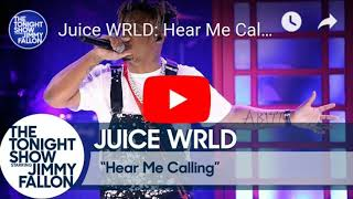 Juice WRLD: Hear Me Calling (The Tonight Show starring Jimmy Fallon Audio)