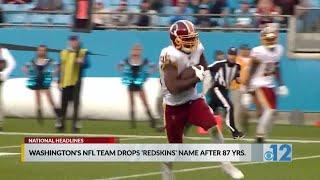 Washington to shed 'Redskins' name Monday, reports say