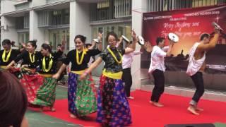 Christian song Dhamphu ma bajyo