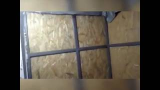 Пристройка из метала профильная труба квадрат спальна 2018 стройка ремонт теплый пол