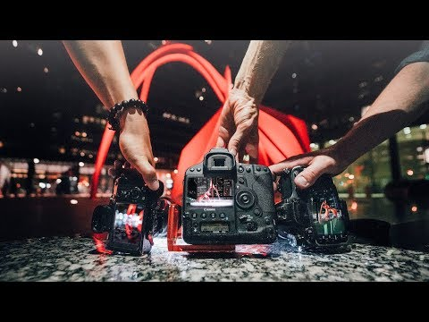 3 Photographers Shoot ONE City At Night - 10 Minute Challenge