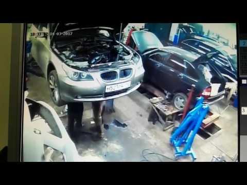 Замена двигателя M54 на BMW Е60