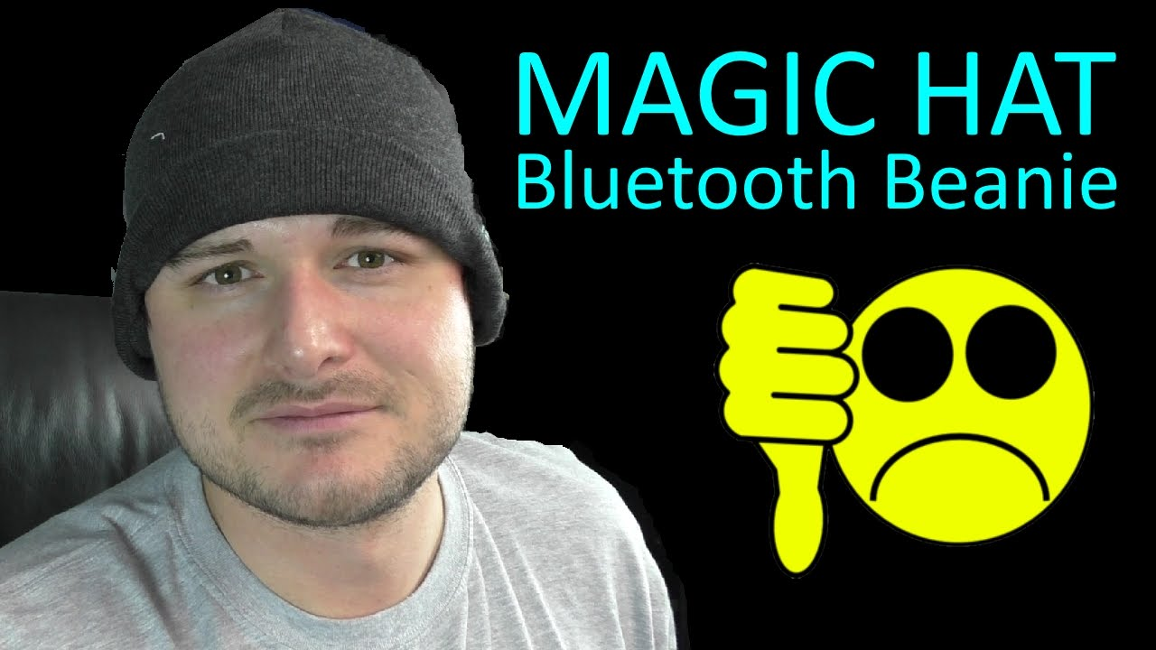 3ae2f11bfb3 Magic Hat Bluetooth Beanie Review - YouTube