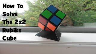 Gambar cover How To Solve The 2x2 Rubik's Cube Part 2- Tutorial[Cubing Ninja