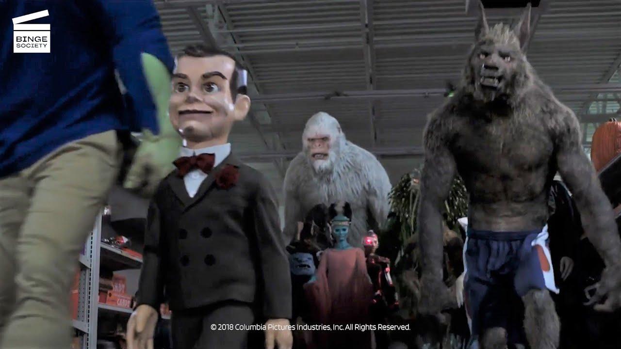 Download Goosebumps 2: Haunted Halloween: Monsters come alive HD CLIP