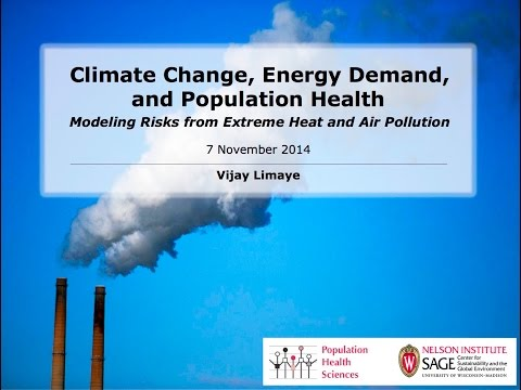 Lecture: Climate Change, Energy Demand, and Public Health