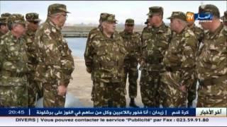 وهران: الفريق أحمد قايد صالح في زيارة إلى الناحية العسكرية الثانية