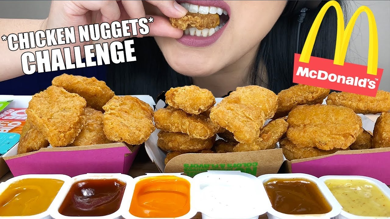 Asmr Mcdonalds Chicken Nuggets Challenge Auzsome Austin Eating Sounds No Talking Asmr Phan