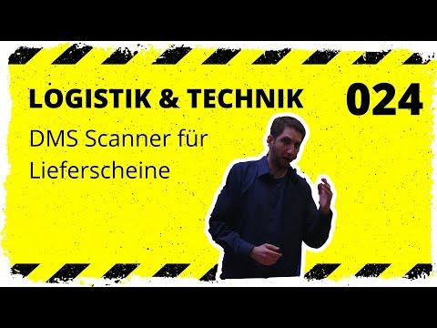 logistik&technik #024: DMS Scanner für Lieferscheine - Wareneingang noch besser!