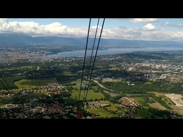 FRANCE - Téléphérique du Salève, Geneva Lake