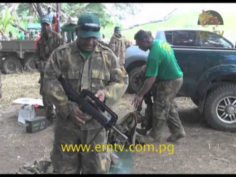 PNG Defence Force Skill At Arms Meet
