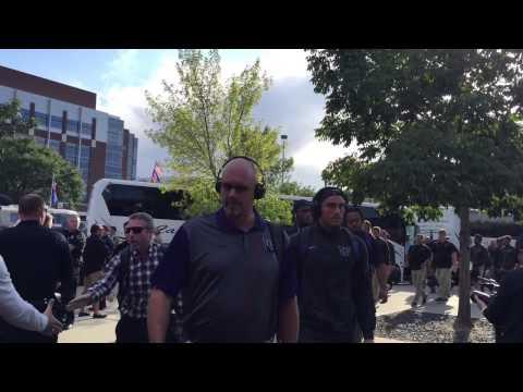 Chris Petersen Arrives At Albertsons Stadium